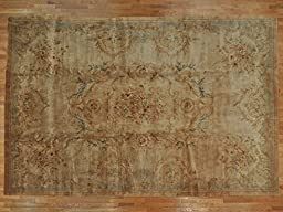 12\'x18\' Oversize Aged Savonnerie French Design Oriental Rug G21601
