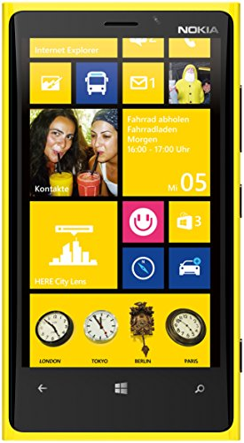 Nokia Lumia 920 Rm-820 32Gb At&T Unlocked Gsm 4G Lte Windows 8 Os Smartphone - Yellow