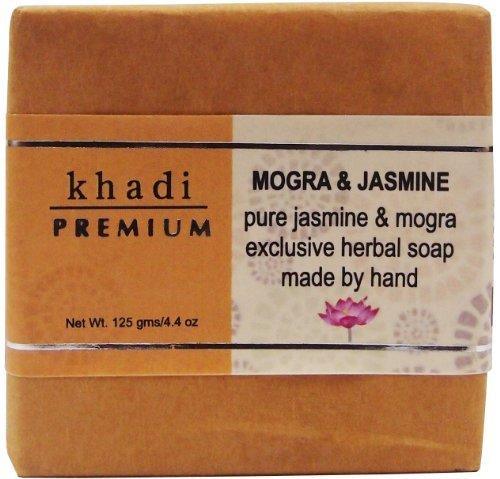 Khadi Premium Jasmine & Mogra Bath Soap 125G