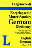 img - for Langenscheidt Muret-Sanders Encyclopedic Dictionary, English/German N-Z (Muret-Sanders Encyclopedic German Dictionary) book / textbook / text book
