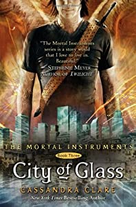 "Cover of ""City of Glass (Mortal Instrumen..."