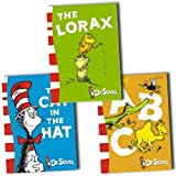 Dr Seuss Collection 3 Books Set Pack (The Lorax Movie) (The Cat in the Hat, Dr Seuss ABC, The Lorax)by Dr Seuss