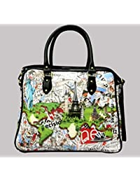 Digitally Printed Multi Stylish Cabin Carry Bags With Multi Pocket - B01ICTCPEY