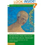 Searching for the State in British Legal Thought: Competing Conceptions of the Public Sphere (Cambridge Studies...