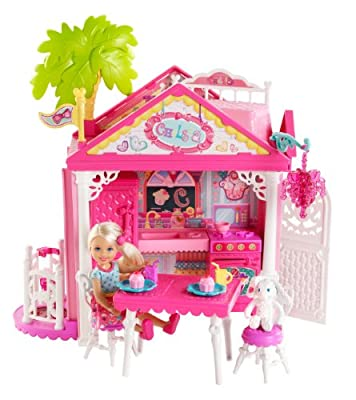 Barbie Chelsea Doll and Clubhouse Playset by Barbie