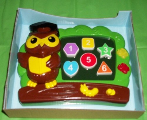 Colorful Numbers and Shapes Learning Board