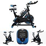 RevXtreme Indoor Aerobic Exercise Bike / Cycle Fitness Cardio Workout Machine - 22KG Flywheel