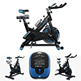 RevXtreme Indoor Aerobic Exercise Bike / Cycle Fitness Cardio Workout Machine - 22KG Flywheel