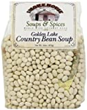 Smokehouse Soups & Spices Golden Lake Country Bean Soup, 16 Ounce Bags (Pack of 4)