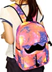 Unisex Girl Boys Retro Travel Backpac...