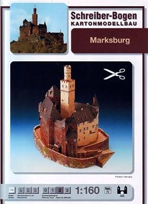Schreiber-Bogen Marksburg Castle Card Model