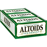 Altoids Curiously Strong Mints, Spearmint, 1.76-Ounce Tins (Pack of 12)