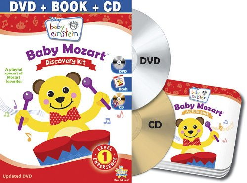 Baby Einstein: Baby Mozart Discovery Kit (Dvd + Cd And Picture Book) front-187983