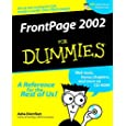 Microsoft FrontPage 2002 for Dummies (With CD-ROM)