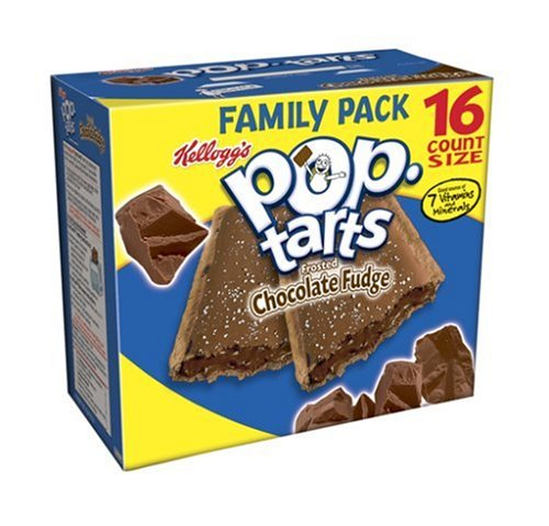 Buy Kellogg's Pop-Tarts Frosted Chocolate Fudge, 29.3-Ounce, 16-Count Boxes (Pack of 8) (Pop-Tarts, Health & Personal Care, Products, Food & Snacks, Breakfast Foods, Toaster Pastries)