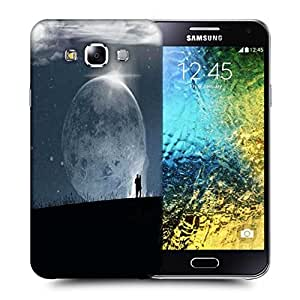 Snoogg Fantasy Wallpaper Printed Protective Phone Back Case Cover ForSamsung Galaxy E5