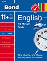 Bond 10 Minute Tests 10 - 11 years English