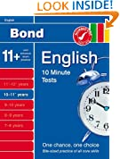 Bond 10 Minute Tests 10 - 11 years English