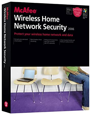 McAfee Wireless Home Network Security 2006  [Old Version]