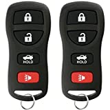 KeylessOption Keyless Entry Remote Control Car Key Fob Replacement for KBRASTU15 (Pack of 2)