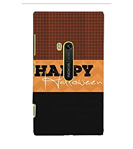 Happy Halloween 3D Hard Polycarbonate Designer Back Case Cover for Nokia Lumia 920 :: Microsoft Lumia 920
