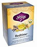 Yogi Bedtime, Herbal Tea Supplement, 16-Count Tea Bags (Pack of 6)