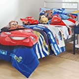 Disney Cars Track Burn Twin-Single Bedding Sheet Set
