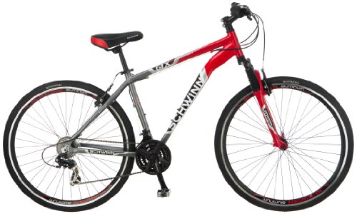 Purchase Schwinn Men's GTX-2 700C Dual Sport Bicycle, Red/Silver, 18-Inch