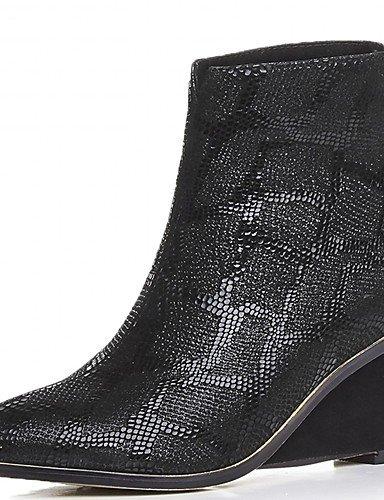 Donna stivali Primavera / Autunno / WinterHeels / Piattaforma / Cowboy / Western Stivali / Snow Boots,marrone,noi6.5-7 / EU37 / UK4,5-5 /