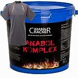 Anabol Komplex, Whey Protein 2,27Kg Vanille oder Banane Eiweißshake + Sportstyle Muskel T-Shirt