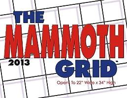 Mammoth Grid 2013 Calendar