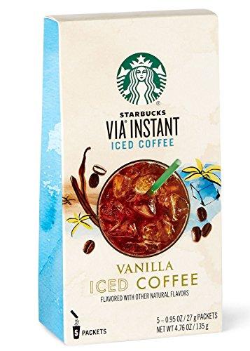 Starbucks VIA Instant Vanilla Iced Coffee (Iced Via Coffee Starbucks compare prices)