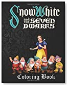 Snow White and the Seven Dwarfs Coloring Book: A lovely A4 45 page coloring book on Snow White and the Seven Dwarfs with great fun scenes to color. Perfect for kids aged 3+.