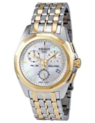 Tissot Women's T008.217.22.111.00 Mother-Of-Pearl Dial Watch