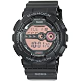 Casio Men's GD100MS-1 XL Series By G-Shock Classic Digital Black Watch