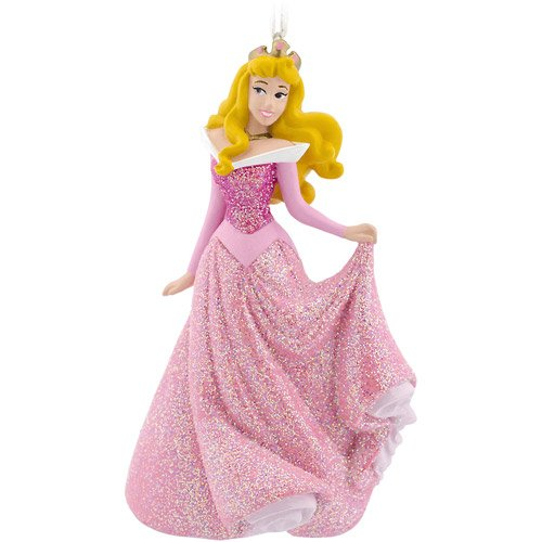 Hallmark Disney Aurora Sleeping Beauty Christmas Ornament