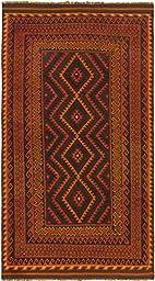 Ecarpet Sivas Dark Brown/Dark Copper RUG 4\'-10\