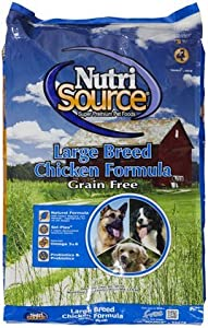 NutriSource Grain Free Chicken Large Breed Dog Food - 30#