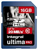 Integral SDHC Class 10 Memory Card 16GB pcs laptops