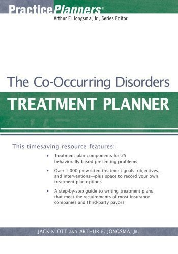 The Co-Occurring Disorders Treatment Planner (PracticePlanners) by Klott, Jack Published by Wiley 3rd (third) edition (2006) Paperback (Jack Klott compare prices)