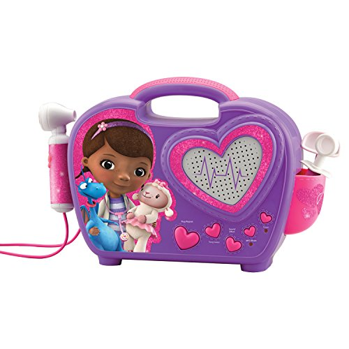 KIDdesigns ST-115 Doc McStuffins Rockin' Doc Sing-Along Boombox (Doc Mcstuffins Toy Box compare prices)