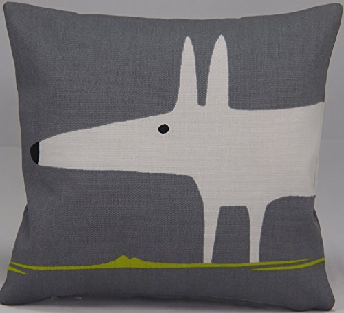 scion-mr-fox-fabric-charcoal-lime-12-30cm-cushion-with-hollowfibre-pad