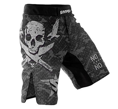 SMMASH MMA Shorts COMBAT 2.0 S M L XL XXL XXXL MMA BJJ UFC sport di combattimento (M)