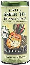 The Republic of Tea Pineapple Ginger Green Tea 50-Count