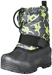 Northside Frosty Boot (Toddler),Dark Grey/Green,9 M US Toddler