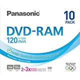 PANASONIC DVD RAM 4.7Gb Pack 10