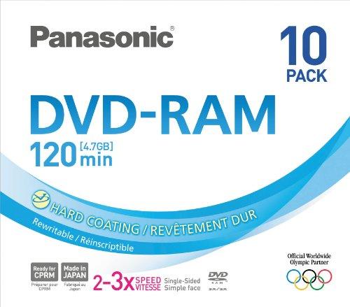 PANASONIC DVD RAM 4.7Gb Pack 10