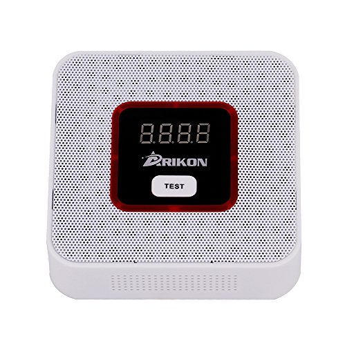 ARIKON Plug-In Combustible Gas Detector Alarm Sensor with Voice Warning,Digital Display (Gas Detector compare prices)