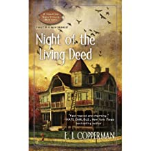 Night of the Living Deed (       UNABRIDGED) by E.J. Copperman Narrated by Amanda Ronconi