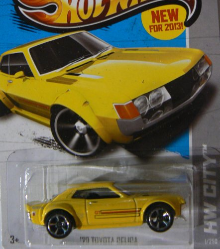 Hot Wheels HW City 1/250 Yellow '70 Toyota Celica - 1